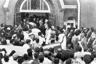 16th Street Baptist Church Funeral!