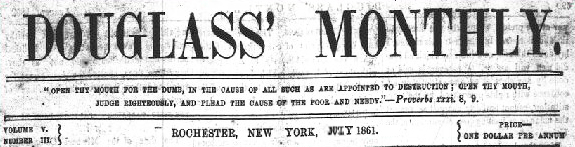 Douglass Monthly, July 1861