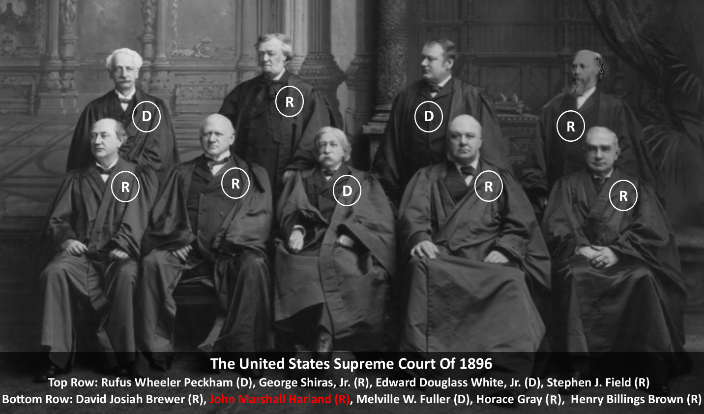 conflict of interest environmental products  the 1896 1897 u s supreme court justices