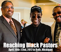 Reaching Black Pastors in Bath, Michigan.
