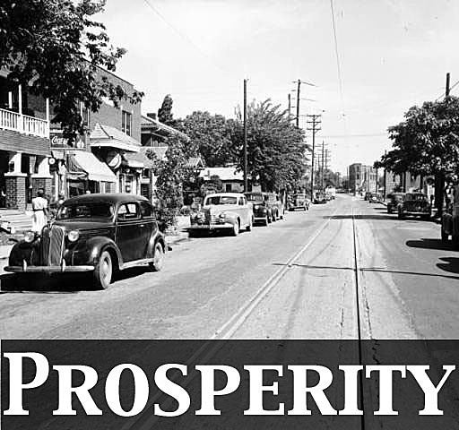 Black Wall Street Prosperity