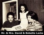 David and Bobbette Lacks
