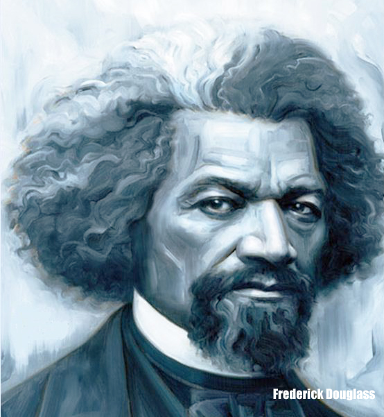Frederick Douglass In Blue