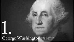 George Washington, the first President of United States of America