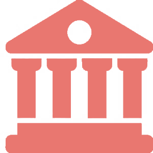 Pale Red library Icon