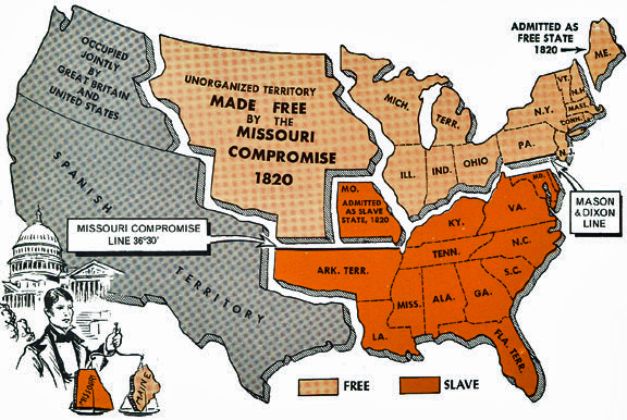 missouri compromise of 1820 The missouri compromise henry clay, a leading congressman, played a crucial role in brokering a two-part solution known as the missouri compromise first, missouri would be admitted to the union as a slave state, but would be balanced by the admission of maine.