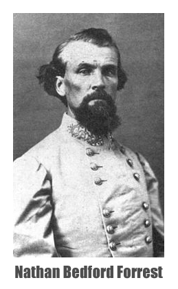 Confederate States Army Lieutenant-General Nathan Bedford Forrest