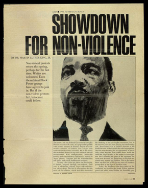 Showdown For Non-Violence Poster