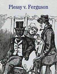 Plessy V. Ferguson 1896 Book Cover