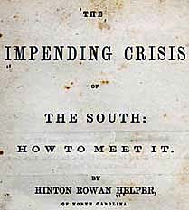 The Impending Crisis of the South