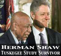 President Clinton Apologies To The Survivors Of The Tuskegee Study