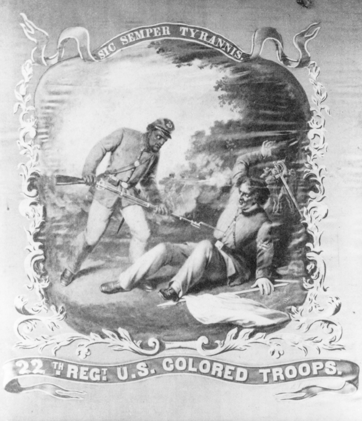 United States Colored Troop - 22nd Regiment Banner
